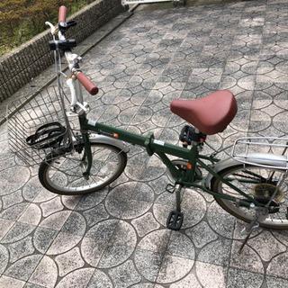 20インチ折り畳み自転車2台