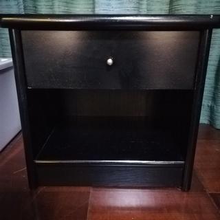 ◆ナイトテーブル◆黒◆差し上げますっ!!◆是非、使って下さい!!...