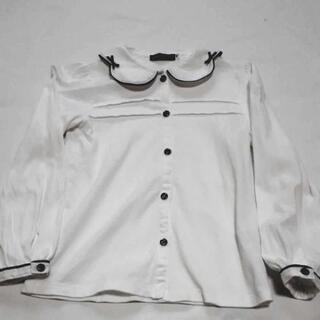新品 ベベ ブラウス 130 120 入学式 卒園式 長袖シャツ...