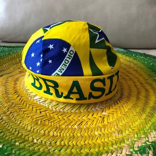 【超ブラジル!】特大 麦わら帽子