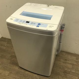021807☆アクア 6.0kg洗濯機 15年製☆
