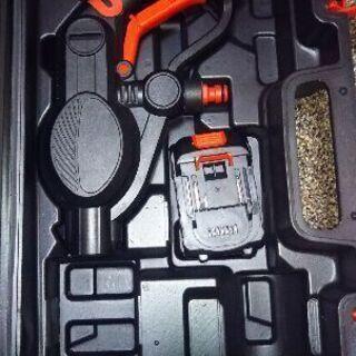 充電式高圧洗浄機【マキタバッテリー使えます。】