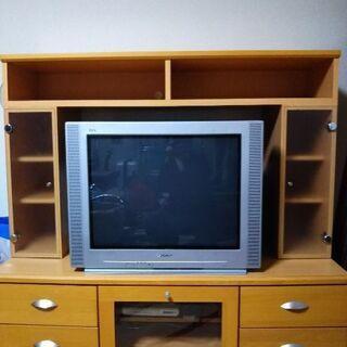 テレビボード 木製中古