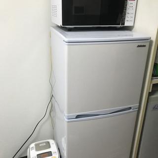 冷蔵庫、電子レンジ、炊飯器の中からお好きな2点以上!