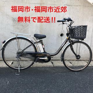PayPay使えます!パナソニック 電動自転車 ママチャリ 26型