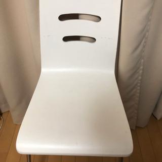 デスクチェア 椅子 ホワイト