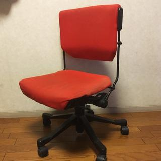 giroflex/ジロフレックス/オフィスチェア/赤