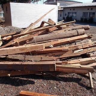 福島県発 中島村発 廃材の薪 薪ストーブ等の燃料に 配達可能