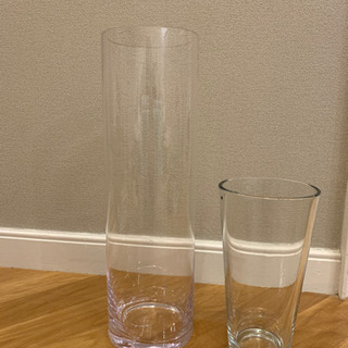 大型・中型 ガラス花びん