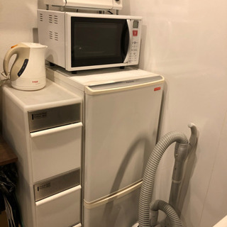 【8点セット】生活家電(冷蔵庫、レンジ、トースター…etc)
