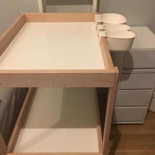 IKEA オムツ替え台 スニーグラル チェンジングテーブル