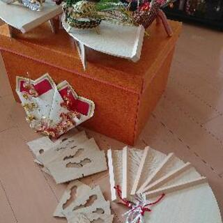 結納飾り 鶴亀 松竹梅