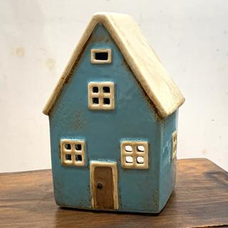 キャンドルホルダー 陶器 アンティーク風 オブジェ ハウス