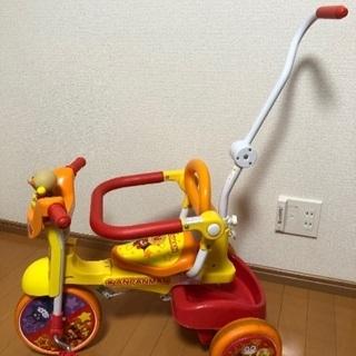 アンパンマン 折りたたみ式三輪車