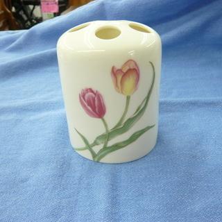 チューリップフラワー tulip flower 歯ブラシホルダー...
