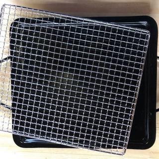 バーベキュー!鉄板と網
