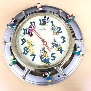 ディズニー メロディの流れる壁掛け時計