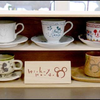 おすすめ品! ミッキーマウス 食器 コーヒーカップ 5客 39TOP