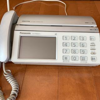 ジャンク品  パナソニック FAX付き電話機