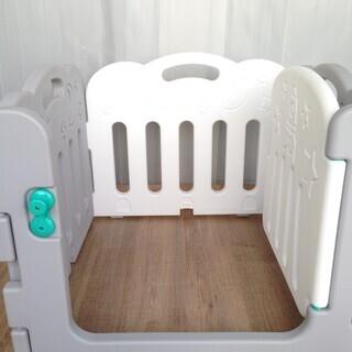 【赤ちゃん用品】簡易 組立式 ベビーサークル  - 尼崎市