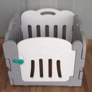 【赤ちゃん用品】簡易 組立式 ベビーサークル  - 子供用品