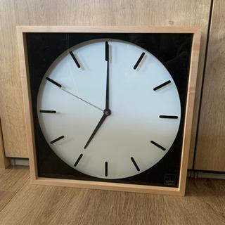 【新品】木製壁かけ時計