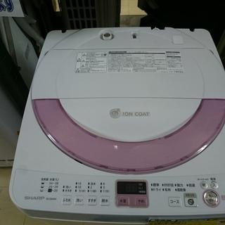 (2~3人世帯向け)シャープ 全自動洗濯機6.0kg 20…