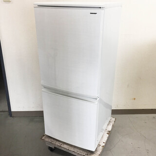 中古☆SHARP 冷蔵庫 2018年製 137L