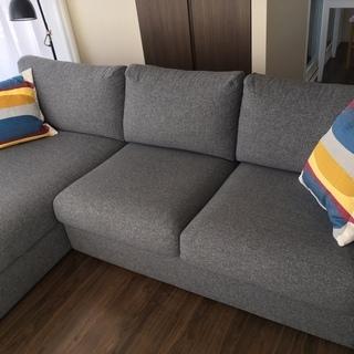 IKEA 3人掛けソファVIMLE ヴィムレ 状態良好