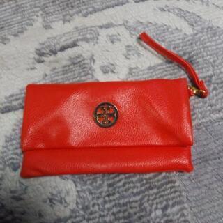 財布「赤」新品未使用ですが、ジャンク品