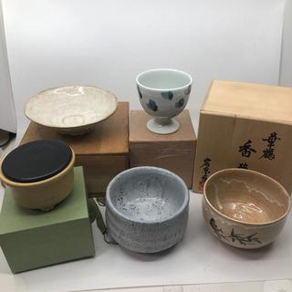 抹茶茶碗 小鉢 他 ほぼ未使用品 5個 お茶道具