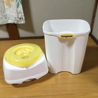 【無料】紙おむつ処理ポット ゴミ箱