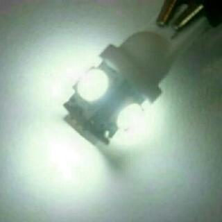 LED T10 バイク,車に1個100円
