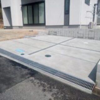 外構工事・コンクリート工事等 お家の周りの工事承ります。