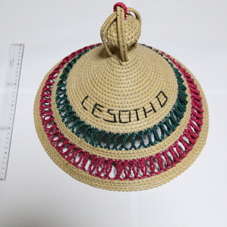 【珍しい帽子】レソト王国の伝統