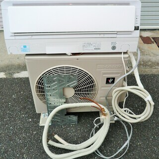 ☆シャープ SHARP AY-J22H-W 冷暖房ルームエアコン...