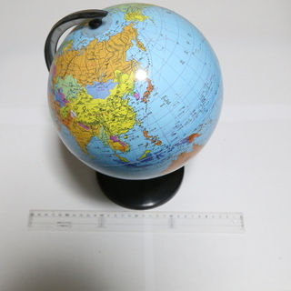 地球儀 大きさ約20cm
