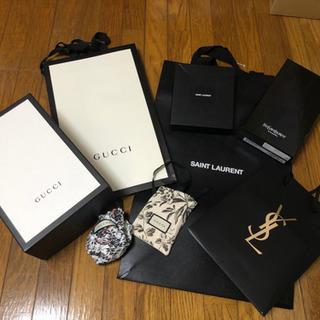 空箱、紙袋