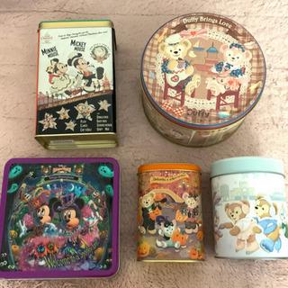 ディズニー 缶 セット