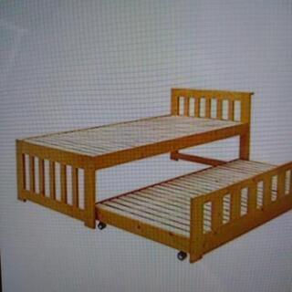 【無料】親子ベッドすのこ上段のみ