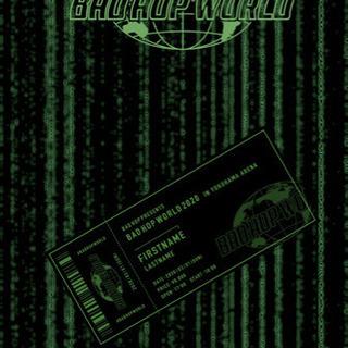 バットホップ BAD HOP WORLD 2020 チケット2枚