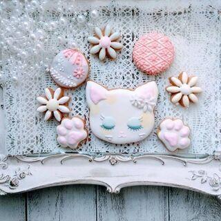 cute catのアイシングクッキー