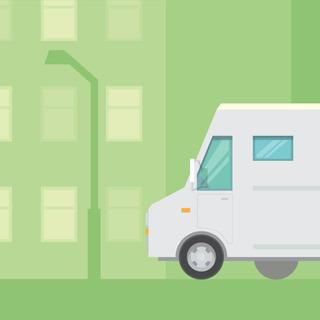 ◆月収32万円以上可能・交通費支給・週休2日◆2t車で食材配送ド...