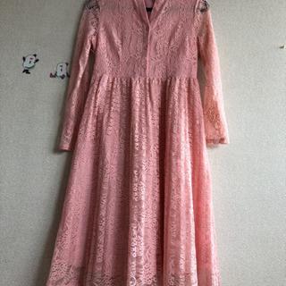 新品ピンクのワンピース