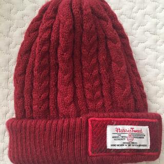 ハリスツィード  ニット帽