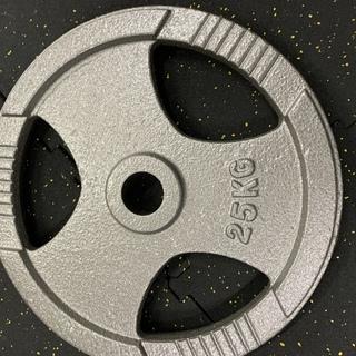 50mm アイアンプレート 25㎏ 2枚