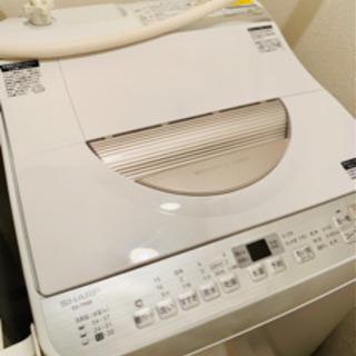 SHARP ES-TX5B 洗濯乾燥機 美品 洗濯機