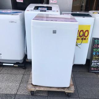 #3433 AQUA 全自動洗濯機 AQW-S4E4 2017年製