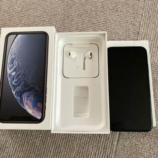 iPhone XR♡ブラック♡イヤホン♡使用は3ヶ月♡プロフお読...