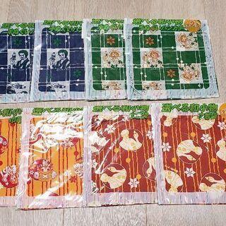 ワンピース巾着袋、ワンピースハンカチ8枚セット 新品